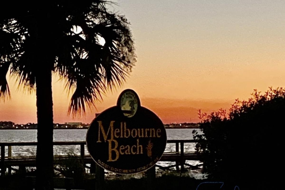 Welcome to Melbourne Beach!