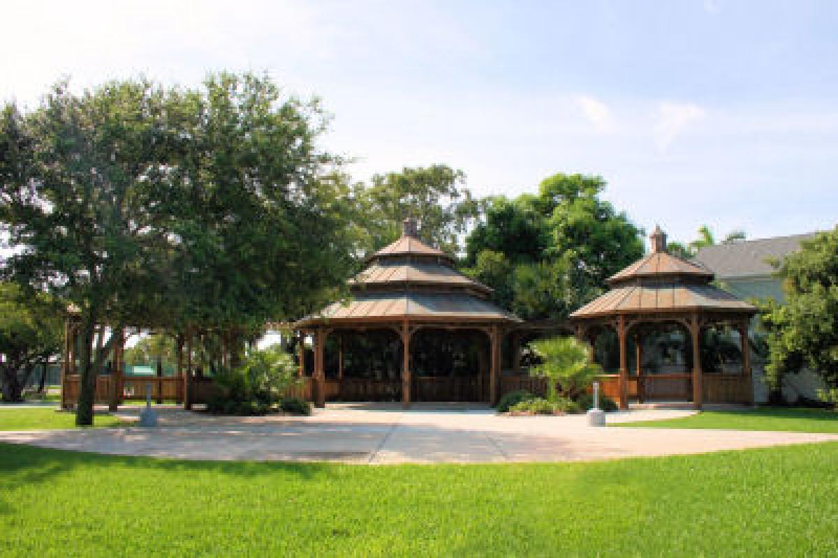 Pavilions in Ryckman Park